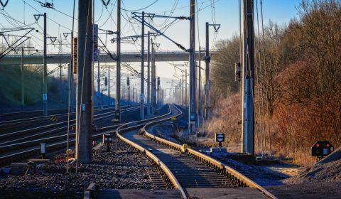 rails, track, railroad tracks
