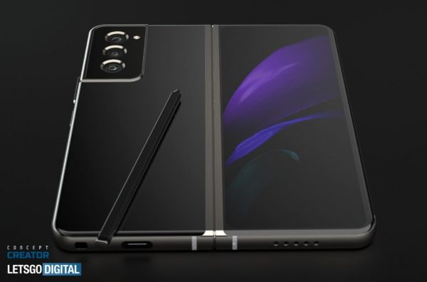 Samsung Z Fold 3 S Pen 1024x676