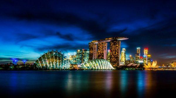 singapore, city, urban
