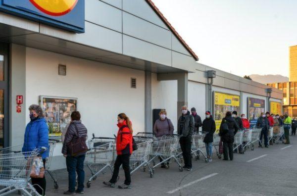 Supermarket Pandemie