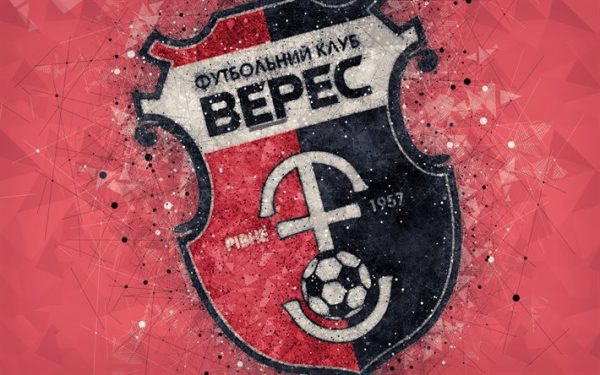 Thumb2 Nk Veres Rivne 4k Logo Geometric Art Ukrainian Football Club
