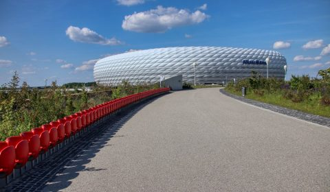 allianz arena, stadium, munich