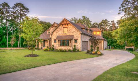 exterior, home, house
