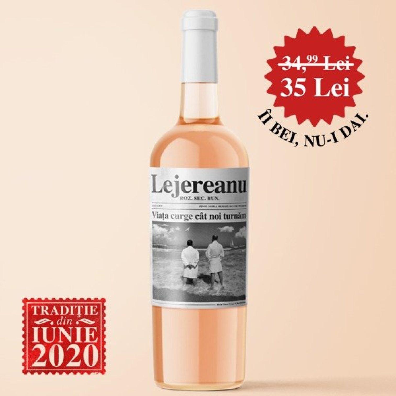 Lejereanu Roz Pinot Noir Merlot Organic Premium 075l3