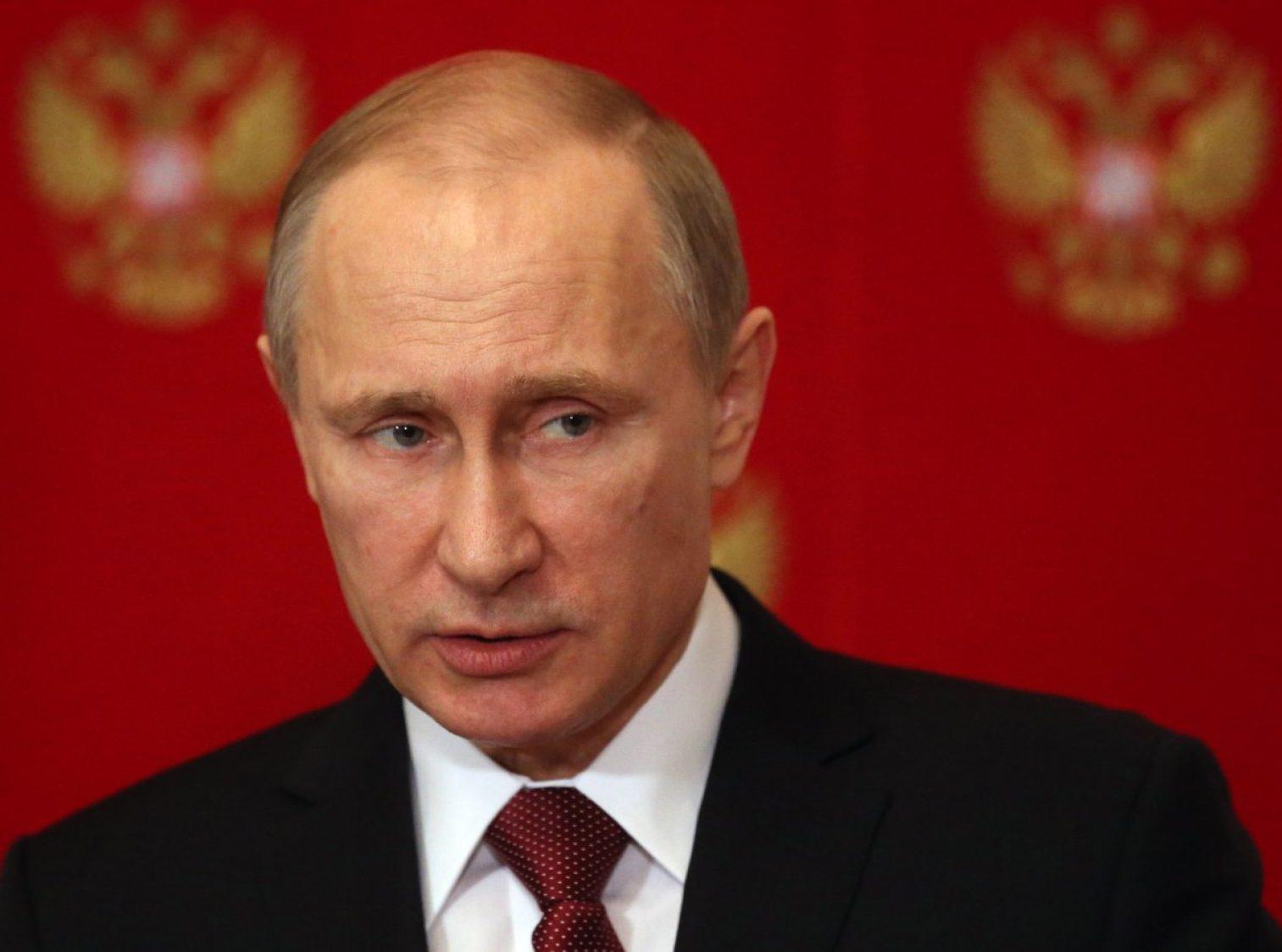 Putin Pay Cut