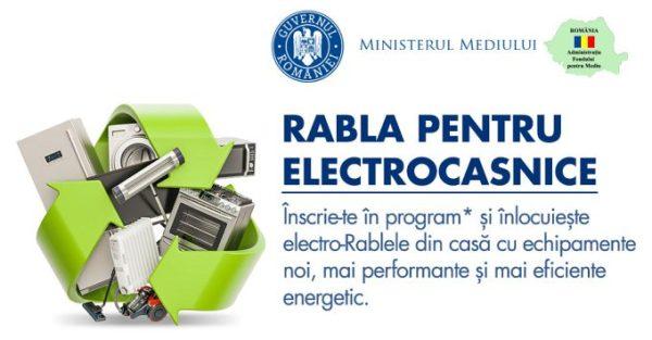 Rabla Electrocasnice Ministerul Mediului