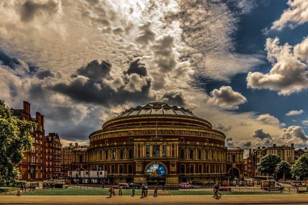 royal albert hall, london, architecture