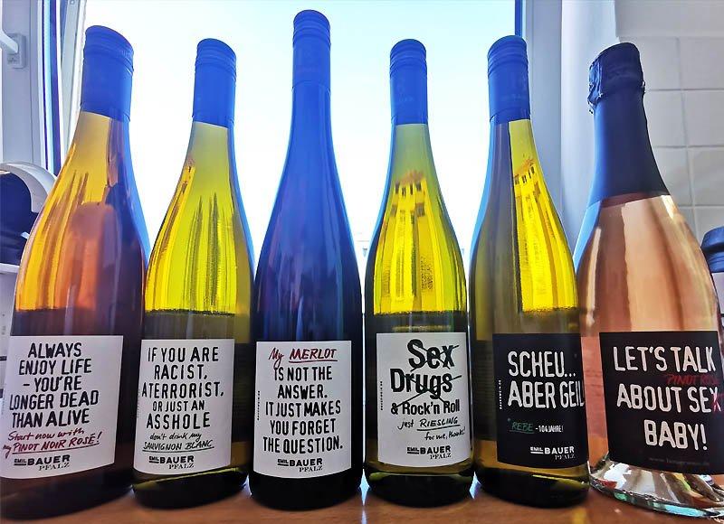 Weingut Emil Bauer Etiketten