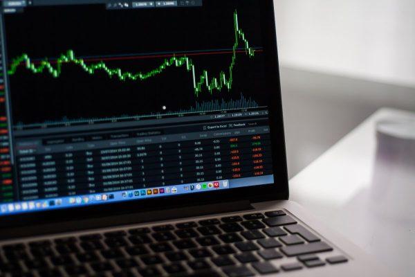 stock market, charts, graphs