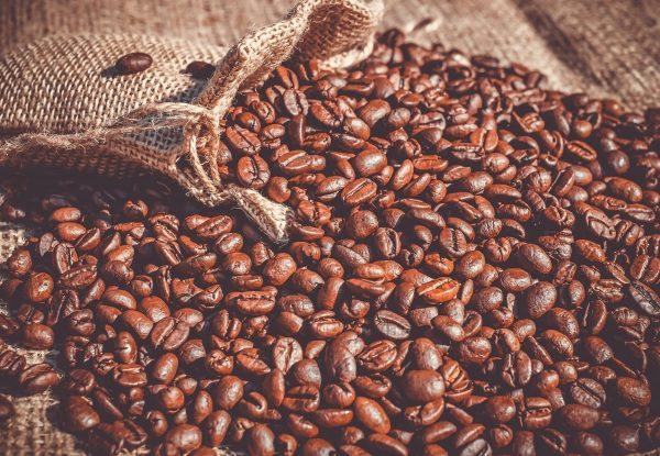 coffee, coffee beans, beans