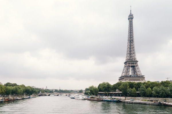 Eiffel Tower beside Seine