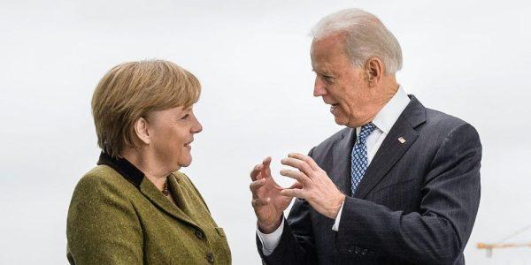 Merkel Biden