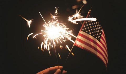 sparkler, usa, american