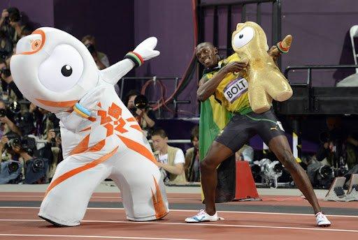 Wenlock Si Usain Bolt