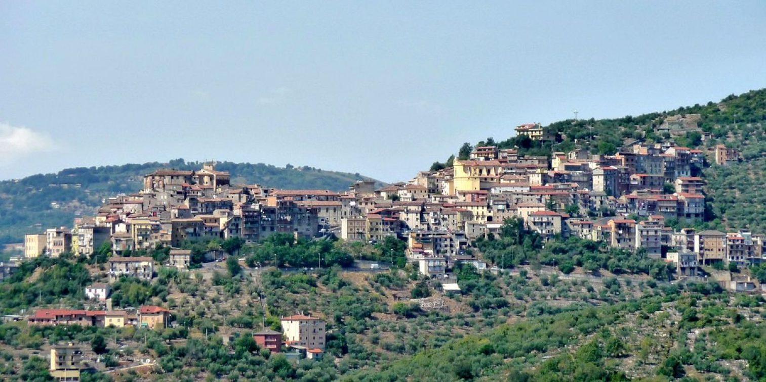 Panorama Di Maenza Da Roccagorga Panoramio