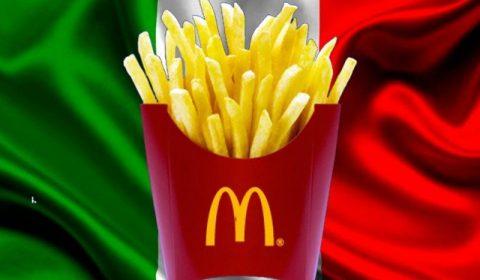 Cartofi Mcdonalds Italia
