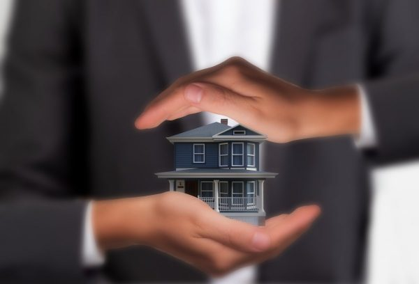 house, real estate, hands