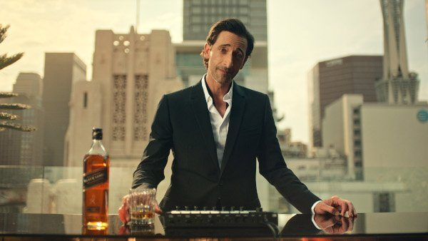 Adrien Brody Walkers Ad Rooftop Bar With Jw Black Label