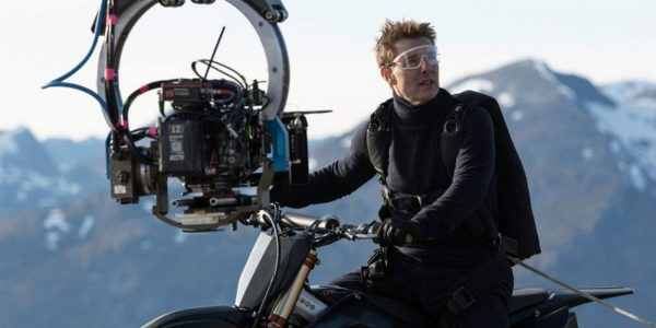 Mission Impossible 7 Tom Cruise Dirt Bike Stunt