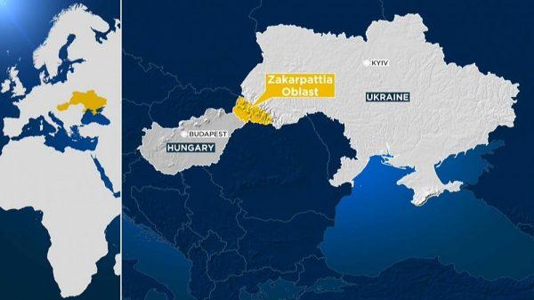 Transcarpthia Ucraina Ungaria
