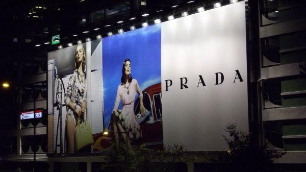 advertising, prada, billboard