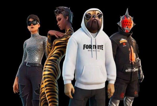 Balenciaga Fortnite