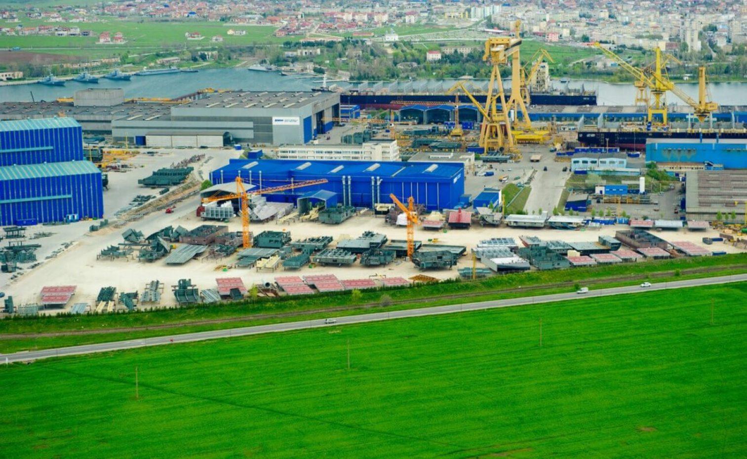 Damen Shipyard Mangalia