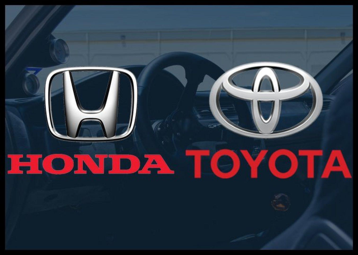 Honda Toyota