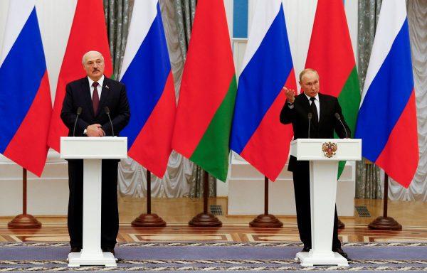 Putin Lukasenko