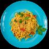 spaghetti, pasta, food