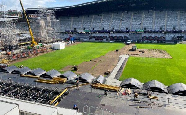 Untold Gazon Pregatiri Cluj Arena
