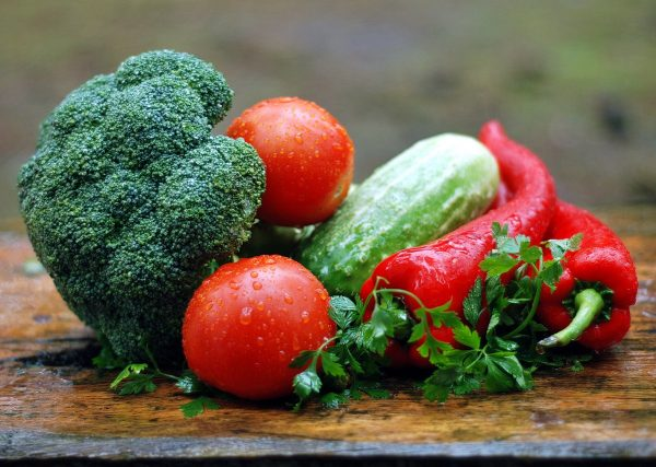 vegetables, water droplets, fresh