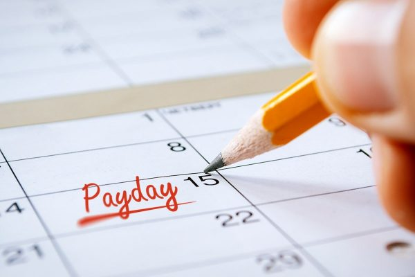 Payday Pay Period Pay Cycle