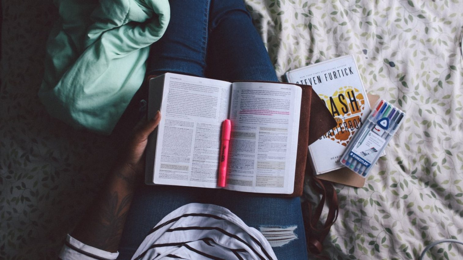 person, reading, books
