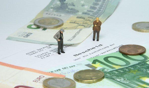 tax office, tax assessment, miniature figures
